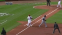 Pujols scores on double play