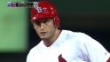 Holliday scores on Freese's 2B