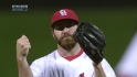 Motte shuts the door