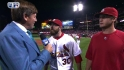 Motte, Freese on Game 3 win