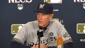 Roenicke on NLCS Game 3 loss