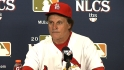 La Russa on Game 3, bullpen