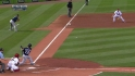 Hairston's RBI double