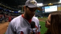 Berkman talks about Cards' win