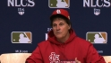 La Russa on winning the NLCS
