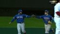Rangers go around the horn