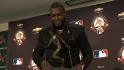 Ortiz on winning Clemente Award