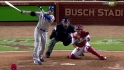 Hamilton's game-tying sac fly