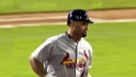 Pujols' three homers ties record