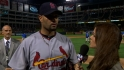 Pujols talks to MLB Network