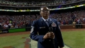 MSgt. Stevens sings in stretch