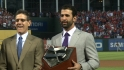 Bautista discusses Aaron Award