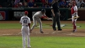 Rangers' four intentional walks