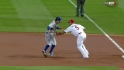 Molina picks off Kinsler