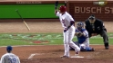 Molina's bases-loaded walk