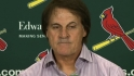 La Russa announces retirement