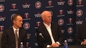 Twins introduce Ryan