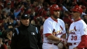 Umpires on historic Game 6