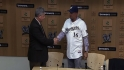 Brewers introduce Ramirez