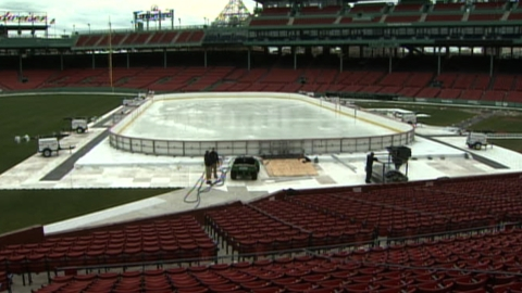 Hockey returning to Fenway Park next winter