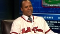 Larkin visits MLB Network