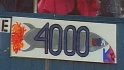Clemens' 4,000th strikeout