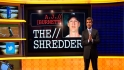 Burnett goes into &#039;The Shredder&#039;