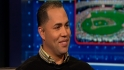 Beltran visits with MLB Network