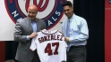 Nats introduce Gio