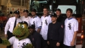 White Sox visit firefighters