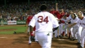 Big Papi walks off