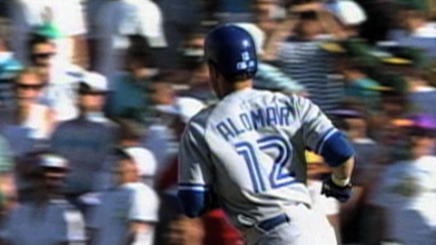 Alomar's assistance pays off for Blue Jays