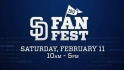 Padres FanFest on Feb. 11