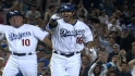 Andre Ethier ties a MLB record with 4 walk-off home runs