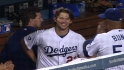 Clayton Kershaw wins his 20th game on the way to the Cy Young Award