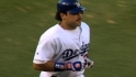 Mike Piazza becomes the only Dodger to hit a home run out of Dodger Stadium