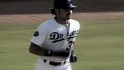 Mike Piazza caps his Rookie of the Year season with 2 home runs vs. the Giants