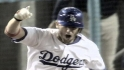 The Dodgers hit four straight home runs to tie the Padres before Nomar wins it