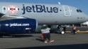 JetBlue unveils Red Sox jet