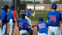 Cubs hold bunting tourney