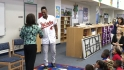 Strop talks health at school