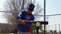 Cubs Clinic: Hitting off a tee