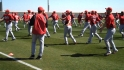 Reds first spring workouts