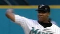 Livan&#039;s 15-strikeout gem