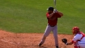 F. Martinez&#039;s three-run shot
