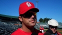 Matheny on managerial debut