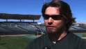 Reddick fitting in with A&#039;s