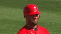 Pujols' double to center