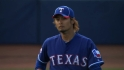 Darvish's scoreless debut