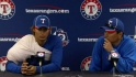 Darvish on spring debut